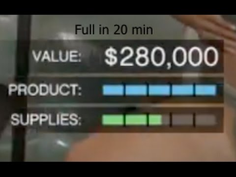 How to get $420,000 in 20 minutes in Gta V Online ( Max your cocaine business. )