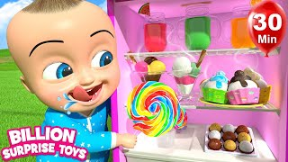 Refrigerator Refrigerator Yes Johnny  | +More Nursery Rhymes & Kids Songs | Learn with BST