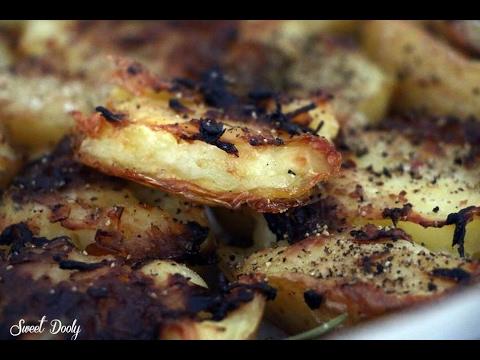 מתכון לתפוחי אדמה מעוכים אפויים בתנור סוויט דולי Sweet Dooly