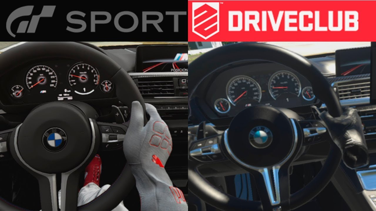 vr comparison gran turismo sport vs driveclub. Black Bedroom Furniture Sets. Home Design Ideas