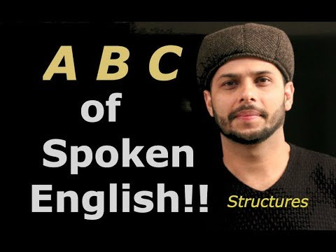 A B C Of Spoken English Structures.