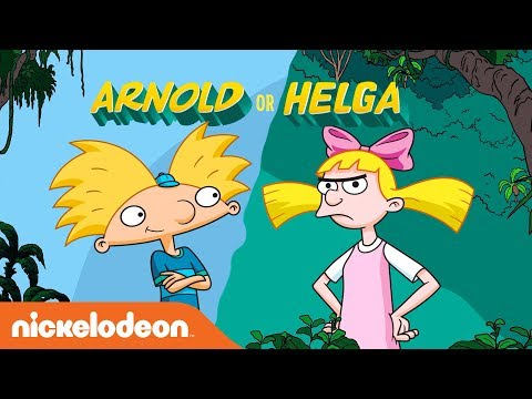 'Hey Arnold!: The Jungle Movie': Are You an Arnold 🏈 or a Helga? 🎀  | Nick