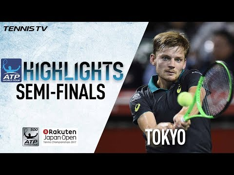 Highlights: Goffin To Meet Mannarino In Tokyo 2017 Final