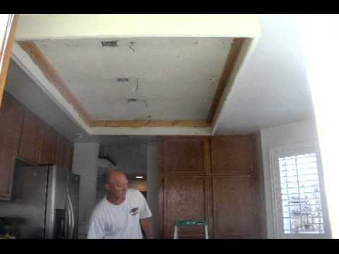 Kitchen Ceiling Remodel Youtube