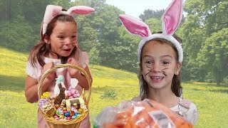 We WOKE UP as Easter Bunnies! Don't get caught delivering Easter Baskets!
