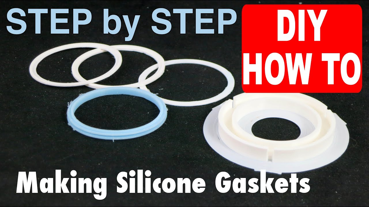 Casting a Silicone Gasket in 3D printed FDM PLA mold from an ...