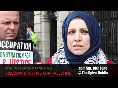 National Demonstration for Palestine - Press Launch 7th June 2017