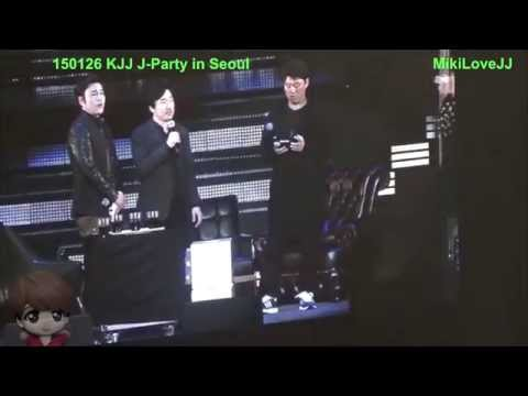[Fancam] 150126 J-Party In Seoul - Chat with guests part 2