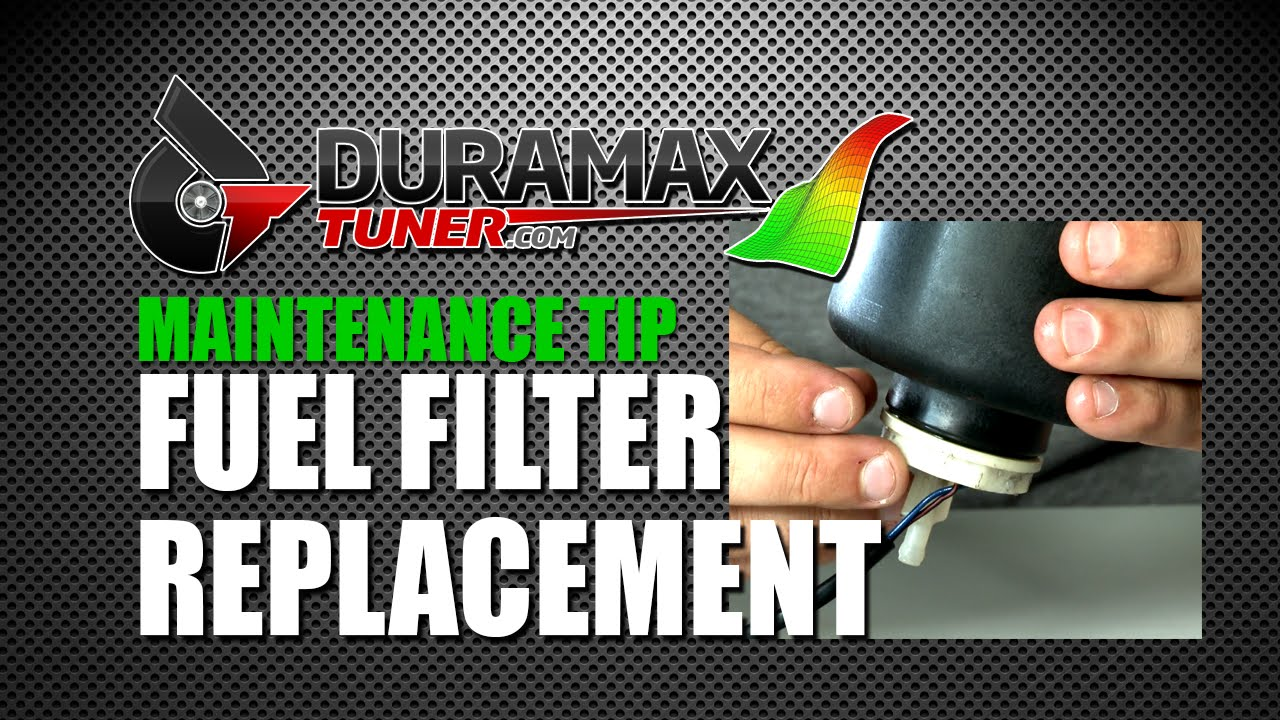 Duramax Fuel Filter Replacement Youtube