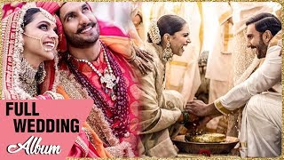 Deepika Padukone Ranveer Singh Full Italy WEDDING ALBUM   Sindhi & Konkani Ceremony