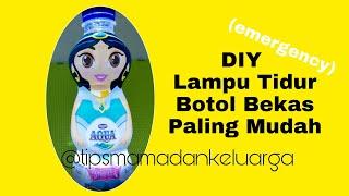 Download Video Kerajinan Botol Bekas - DIY Lampu Tidur - Cara membuat Mainan dari Barang Bekas MP3 3GP MP4
