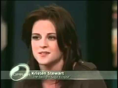 Kristen Stewart, Robert Pattinson & Taylor Lautner on Oprah Part 1