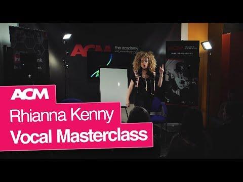 Rhianna Kenny Vocal Masterclass at ACM London