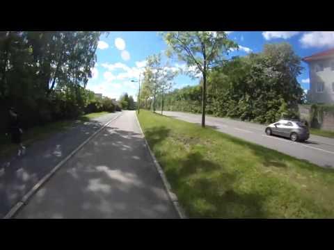 Eksempel på god sykkelveg: Tåsen - Ullevål.