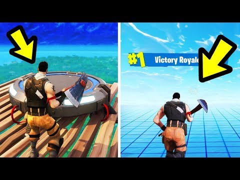 What if you use a Launch Pad at the Sky Barrier in Fortnite?