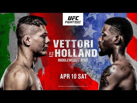 Chael Sonnen Live: UFC Fight Night: Vettori vs. Holland