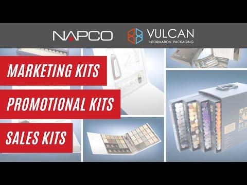 Marketing Kits, Sample Kits, Sales Presentation Kits from Vulcan Information Packaging