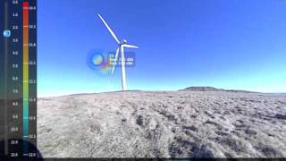 Norsonic Acoustic Camera - Wind turbines Noise.mov
