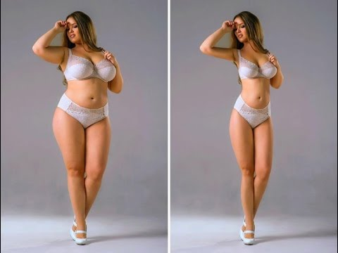 Professional Slimming using Photoshop (sexy girl)