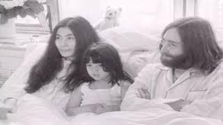 John Lennon and Yoko Ono's bed-in anniversary