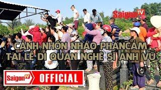 Người dân hiếu kì gây khó khăn trong ngày đưa Anh Vũ về với đất - SAIGONTV