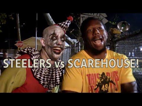 Steelers Vs ScareHouse!