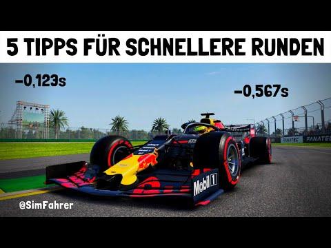 F1 2019: WIE IHR SCHNELLER WERDET!!! - RUNDENZEITEN TUTORIAL   5 TIPPS DEUTSCH/GERMAN