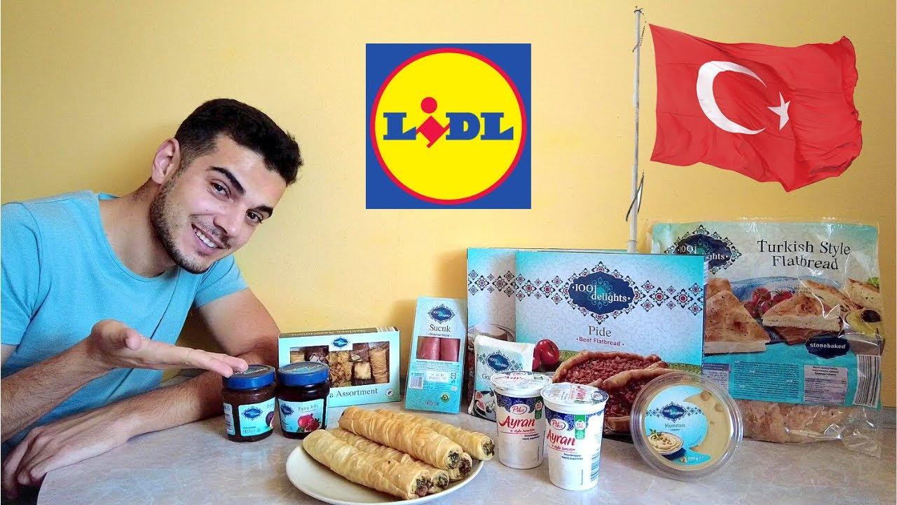 TURECKIE produkty spożywcze z LIDLA - czy warto kupić? | Kawa po turecku