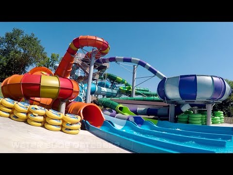 Beech Bend Park All New for 2016 Slide Complex POV's (Bowling Green, KY)