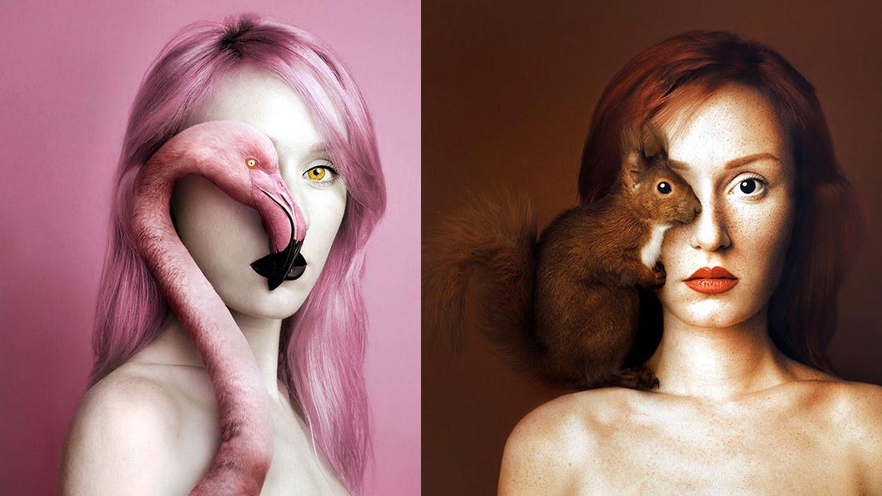 Những bộ ảnh độc đáo  có 1-0-2  tuyệt đẹp về sự kết hợp giữa Con người và động vật