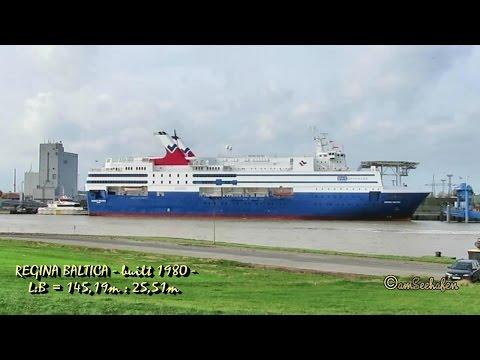 REGINA BALTICA YLBP IMO 7827225 Emden seaship offshore hotel Windpark Wohnschiff