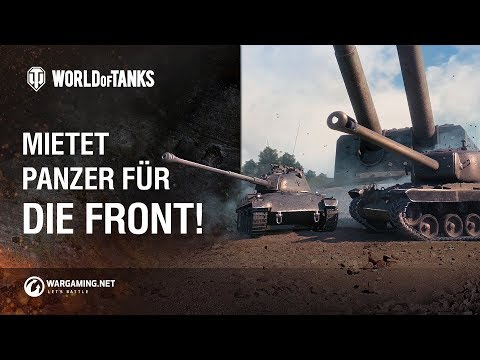 Mietet Panzer für die Front! [World of Tanks Deutsch] thumbnail