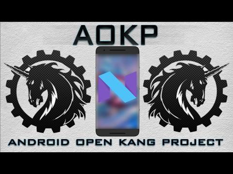Install AOKP Android Nougat 7.1