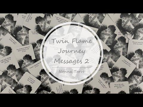 開箱  雙生火焰旅程訊息卡 2 • Twin Flame Journey Messages 2 // Nanna Tarot