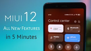 MIUI 12 ALL (15) New Features! English