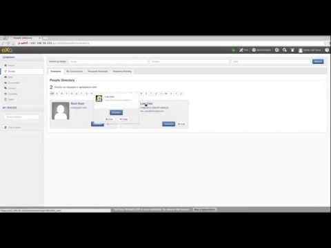 ExoPlatform 4.3.0 XSS In Chat Component