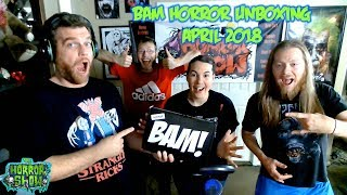 BAM Horror Box Unboxing - March 2018 - The Horror Show