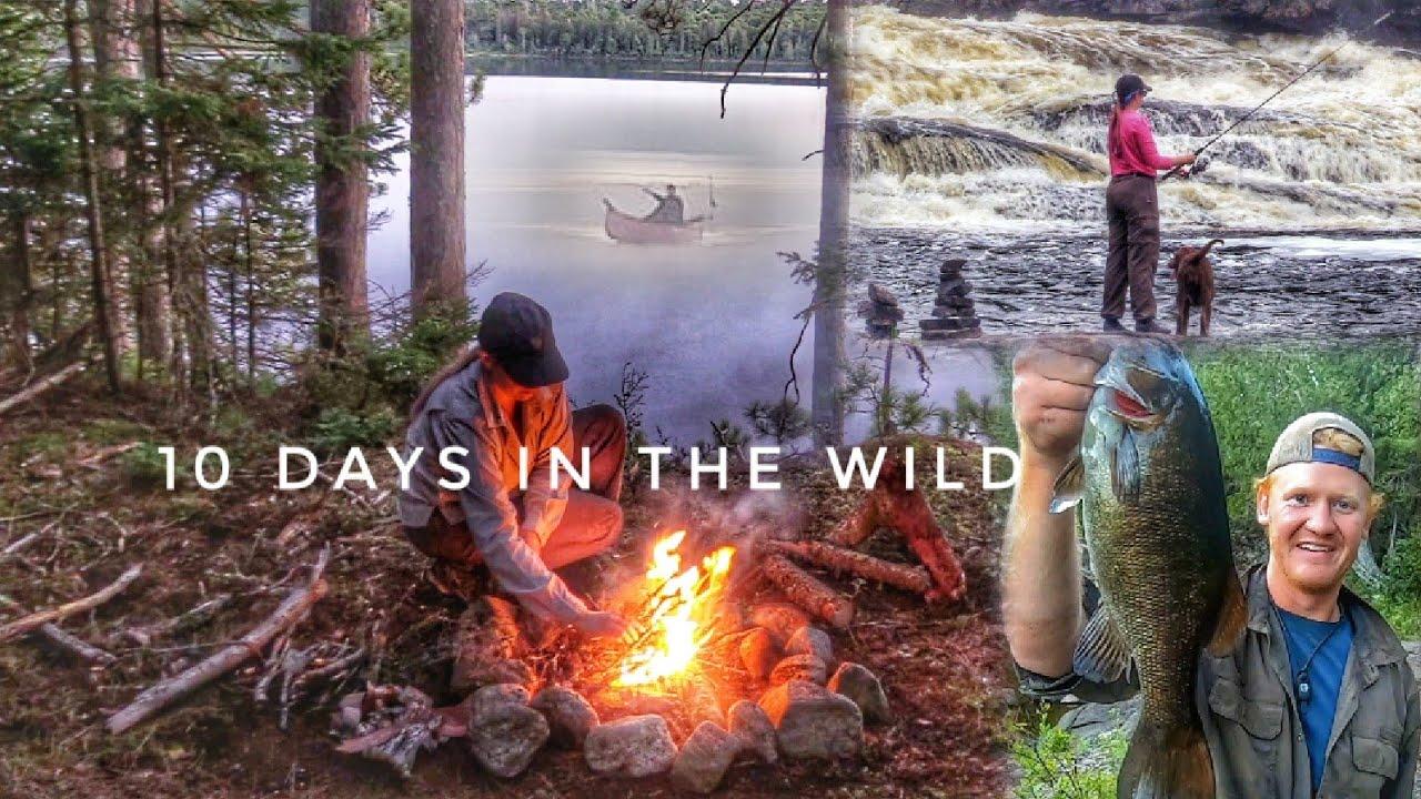 10 Days Overnight Wild Wilderness Camping Adventure W/ My Wife & Dog Full Movie - Backcountry Canada