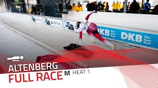 Altenberg | BMW IBSF World Cup 2017/2018 - Men's Skeleton Heat 1 | IBSF Official