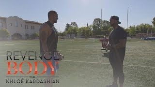 "Dexter Runs Late to His First ""Revenge Body"" Workout | Revenge Body With Khloé Kardashian | E!"