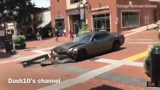 Video Dodge Challenger RUNS OVER counter protesters in white nationalists protest (Aug 12, 2017) download MP3, 3GP, MP4, WEBM, AVI, FLV Agustus 2017