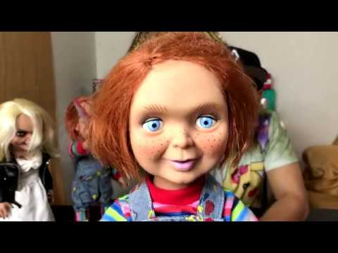 Unboxing Good Guys 15 Chucky Talking Doll By Mezco