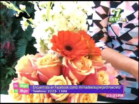 Arreglo Flores Sencillo Con Tres Tipos De Flores