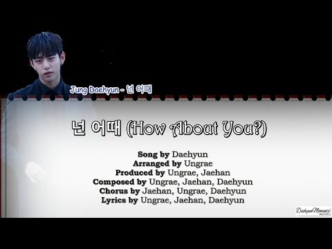 [engsub/kor] B.A.P Daehyun - 넌 어때