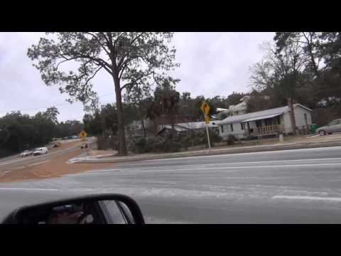 Big Ice Storm Niceville Florida 2014