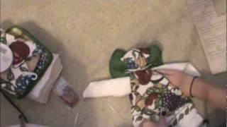 DIY Christmas Angel Towel Craft   spreadinsunshine15