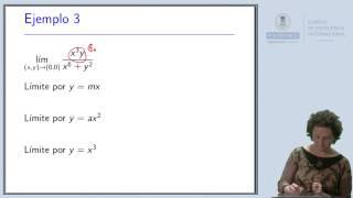 Cálculo II: Inexistencia de límite (1)