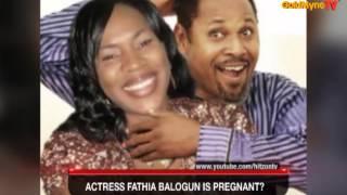 GOLDMYNETV ACTRESS FATHIA BALOGUN IS PREGNANT