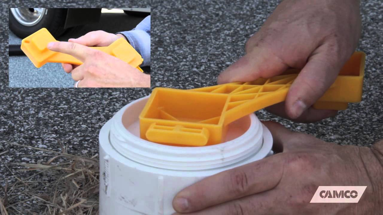 Rv Sewer Cleanout Plug Wrench Youtube