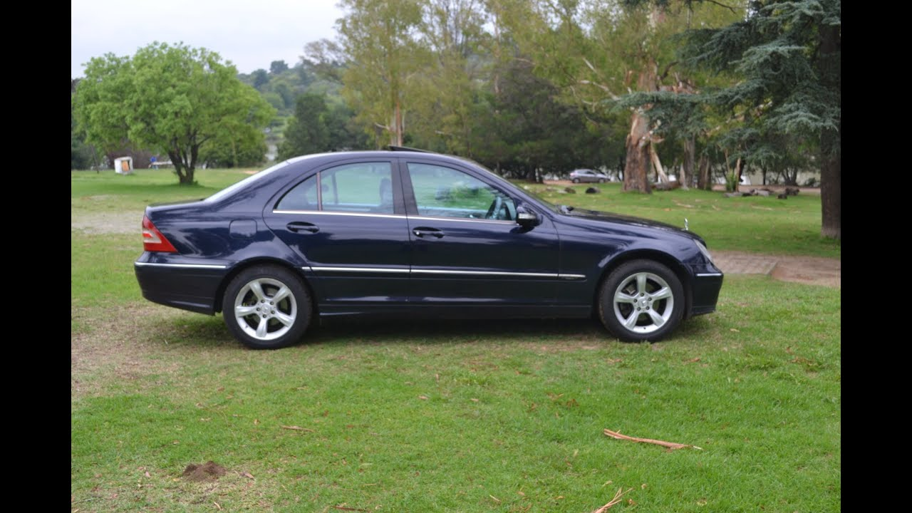 2005 Mercedes Benz C200 Kompressor 2872 Youtube